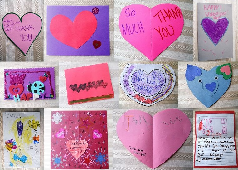 valentines from the granite education foundation giving back to our community