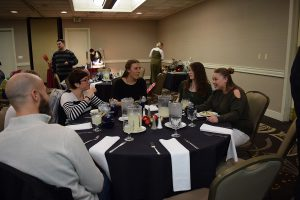 coller industries incorporated annual employee christmas party with fun prizes and a juggler