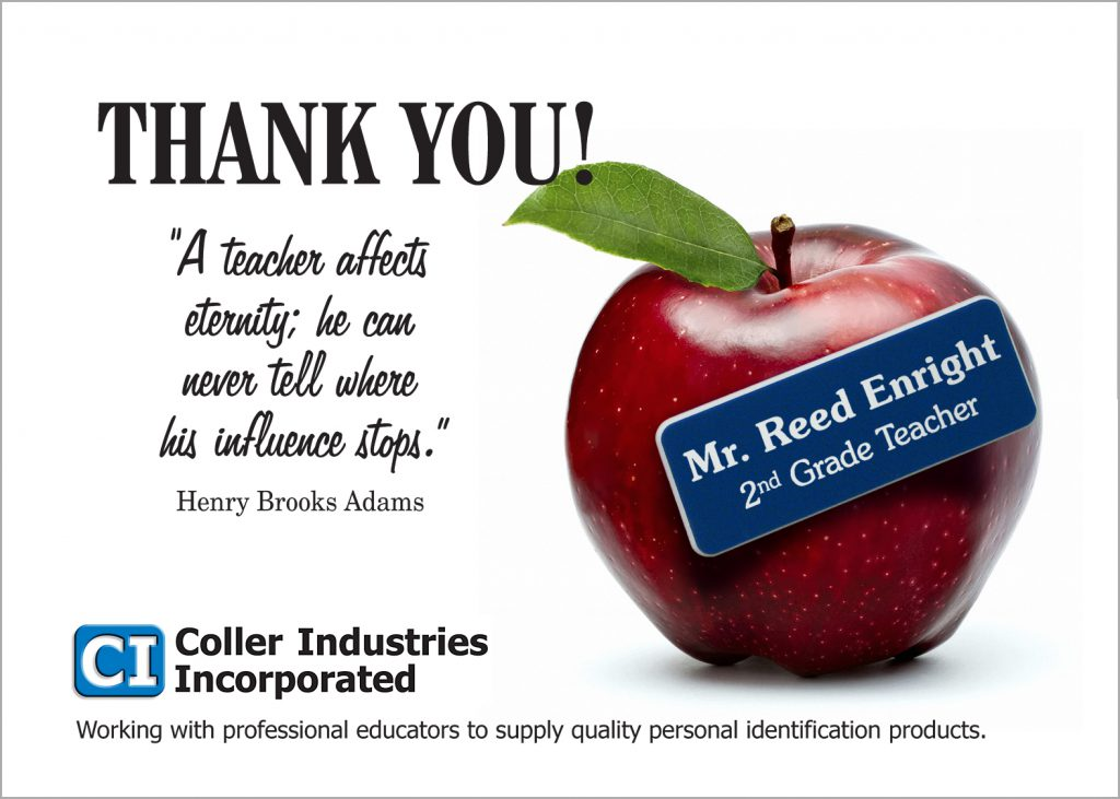 Granite Education Foundation (GEF) and Coller Industries Incorporated are working together, again!