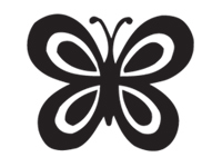 butterfly Icon selected.