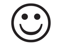 smile Icon selected.