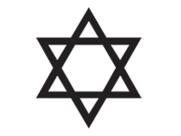 star-of-david Icon selected.