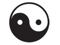 yin-yang Icon selected.