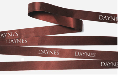 Dyna satin ribbon is softer than a standard floral ribbon, making it easier to tie bows.