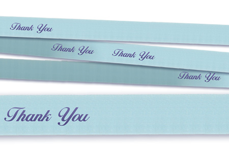 Floral ribbon is a stiffer ribbon used for floral arrangements, pew bows and more.