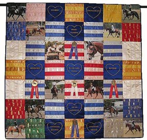 rosette award ribbon quilt