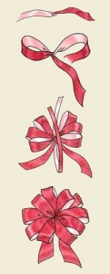 pom pom gift bow ribbon rolls