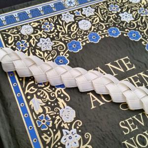 braided ribbon bookmarks