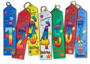 award ribbons multicolor ribbons personalized ribbons reward ribbons