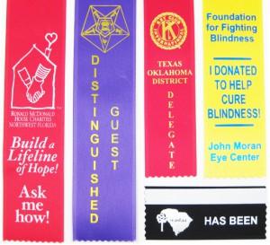 Innovative and Engaging Badge Ribbons promotional badge ribbons stock badge ribbons