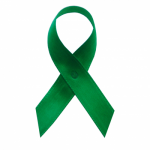 awareness ribbons green literacy
