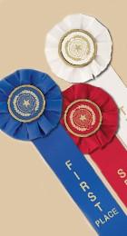 star rosette ribbons single streamer award ribbons