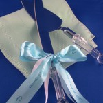 wedding cake server accents personalized wedding ribbon rolls