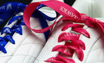 personalized ribbon rolls for shoe laces