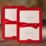 ribbon rolls personalized ribbon wedding invitations party invites