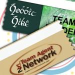 multi color badge ribbons horizontal logo printed personalized ribbons