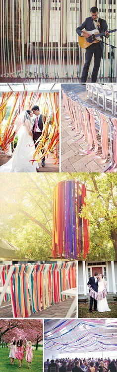 ribbon curtains custom personalized ribbon rolls