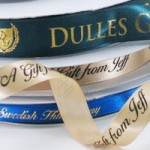 single faced satin ribbon rolls personalized ribbons