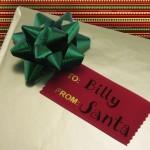 custom badge ribbon gift tags holiday ribbon ideas