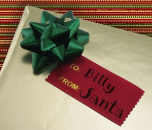 using personalized ribbons for your corporate gifting this year is just as important as picking out the right gift
