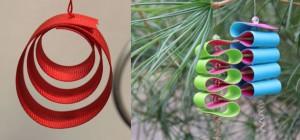 ribbon roll ornaments holiday ribbon ideas