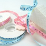 personalized ribbons for a baby shower custom ribbon rolls it's a boy it's a girl