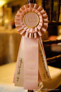 Equestrian Themed Wedding Rosette Ribbons