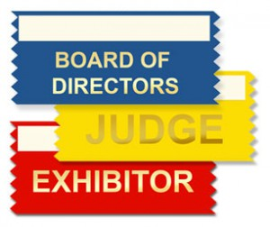 stock horizontal and vertical badge ribbons to market your brand