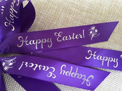 custom and personalized ribbons for holidays