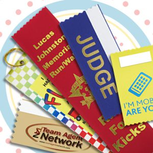 badge ribbons are a perfect tool and souvenir for any summer event