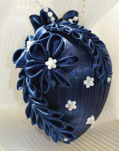 making Kanzashi Flowers using ribbon rolls and turning them into decorations