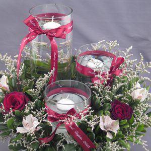 ribbon rolls are perfect for centerpieces and other important decorations at weddings