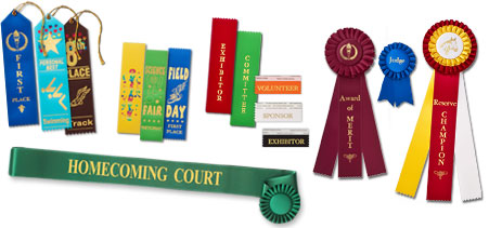 finding the right ribbon for your next event choose from classic rosette and ribbon rolls