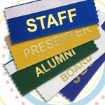 using badge awards and other custom ribbons for fall festivals
