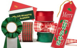 personalized ribbons for christmas and july celebrations