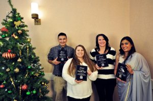 Employee Awards at the Coller Industries Incorporated Christmas party
