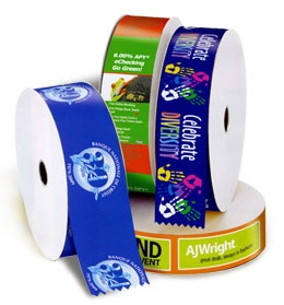 full-color ribbons are a great tool to improve your event and branding