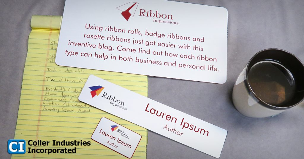 Ribbon Impressions is the blog for Personalized Ribbons.