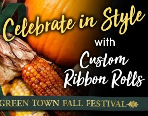 celebrate fall in style with custom ribbons