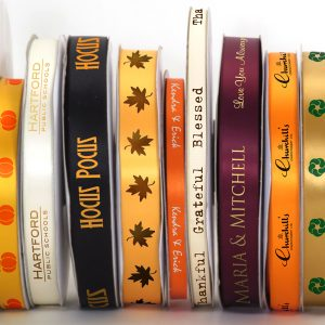 Ribbon rolls are one of the best tools you can have for your Autumn festivals.